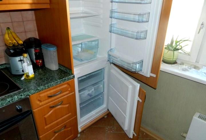 Встраиваемый холодильник своими руками