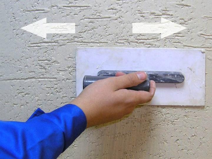 Декоративная штукатурка короед своими руками фото
