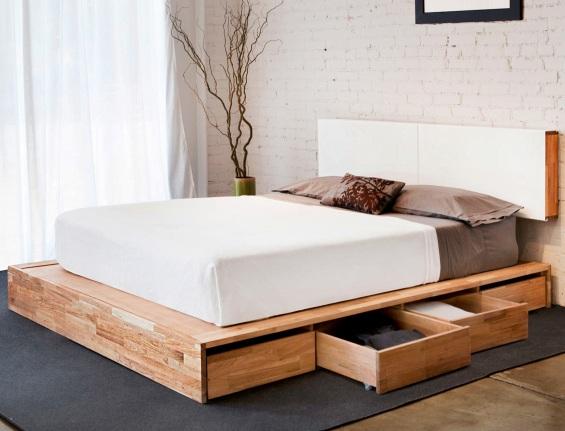 Кровать японском стиле своими руками