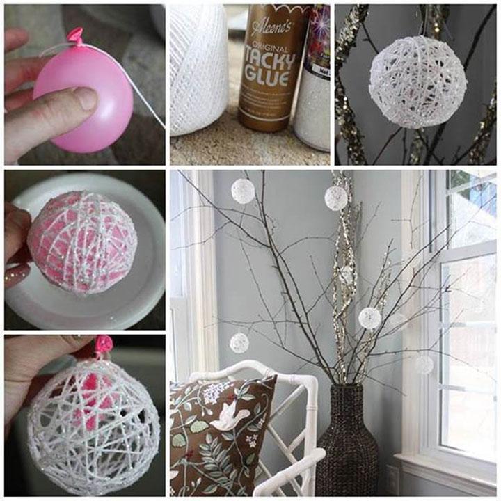 Идеи для декора комнаты на новый год