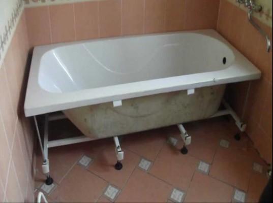Как установить ванну своими руками на ножках фото 1000