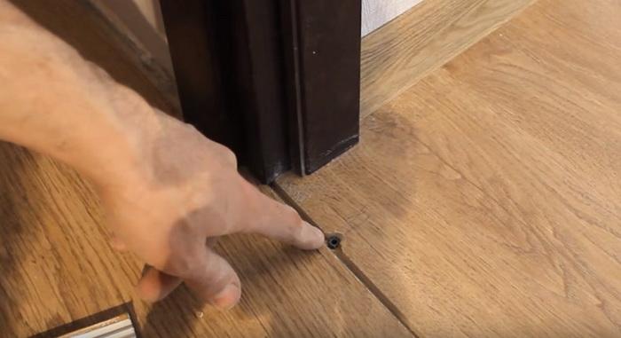 Установка межкомнатных дверей с порога видео