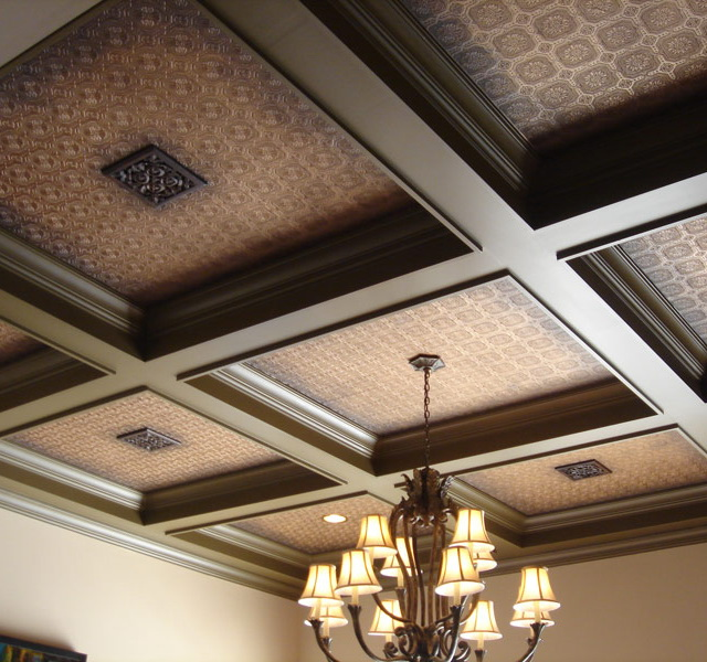 Декор потолка с балками своими руками - Printcopycenter.ru