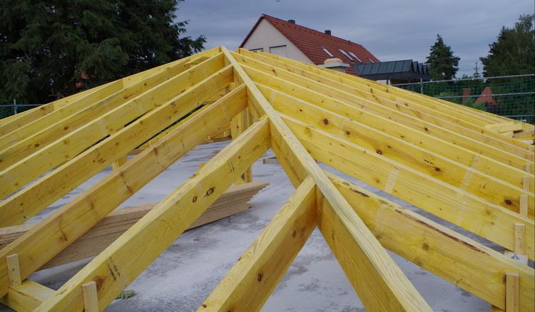 Строительство четырехскатной крыши своими руками 868
