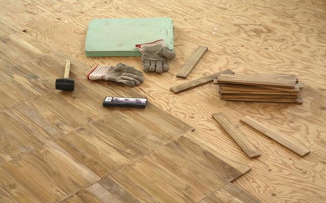 Паркетная доска укладка своими руками на деревянный пол