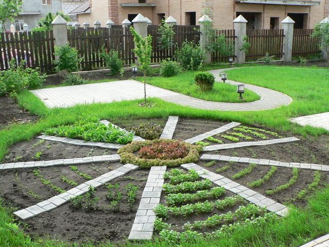 Оформление огородов своими руками