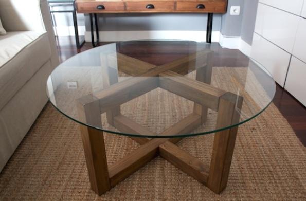 Сделать своими руками стеклянный стол 163