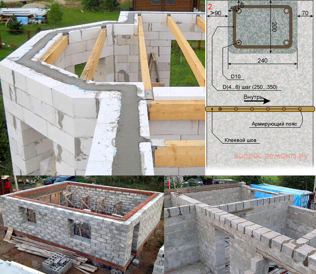 Газоблоки строим дома своими руками