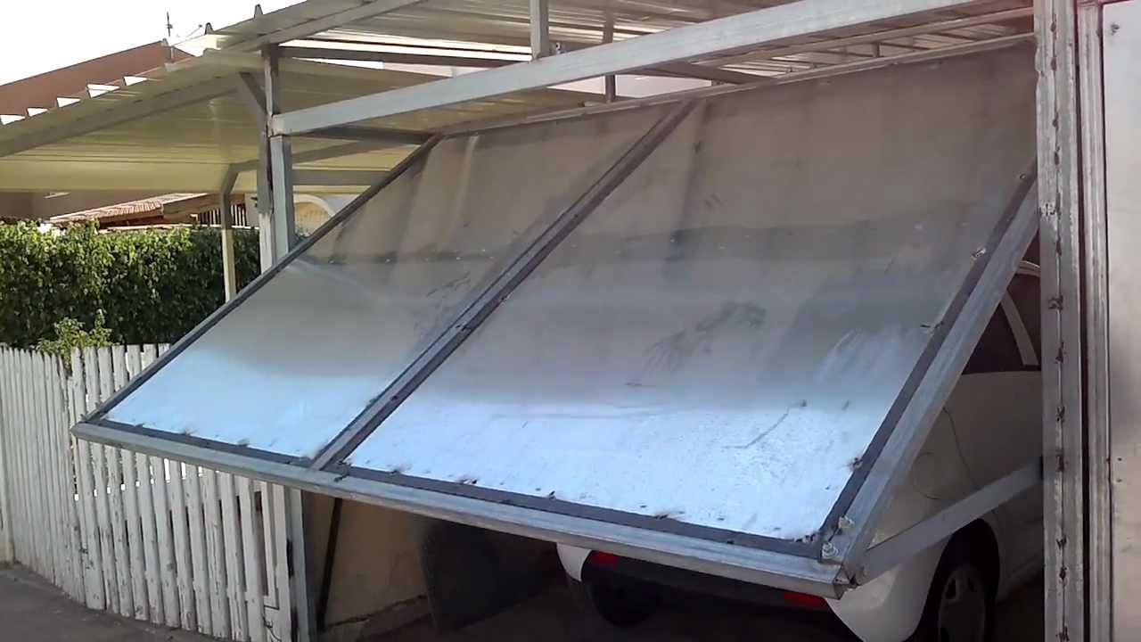 Как изготовить гаражные ворота своими руками видео