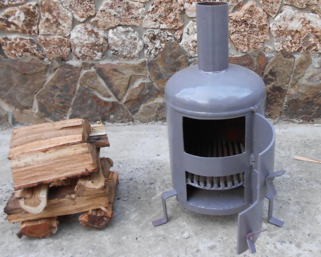 чертеж схема печь длительного горения
