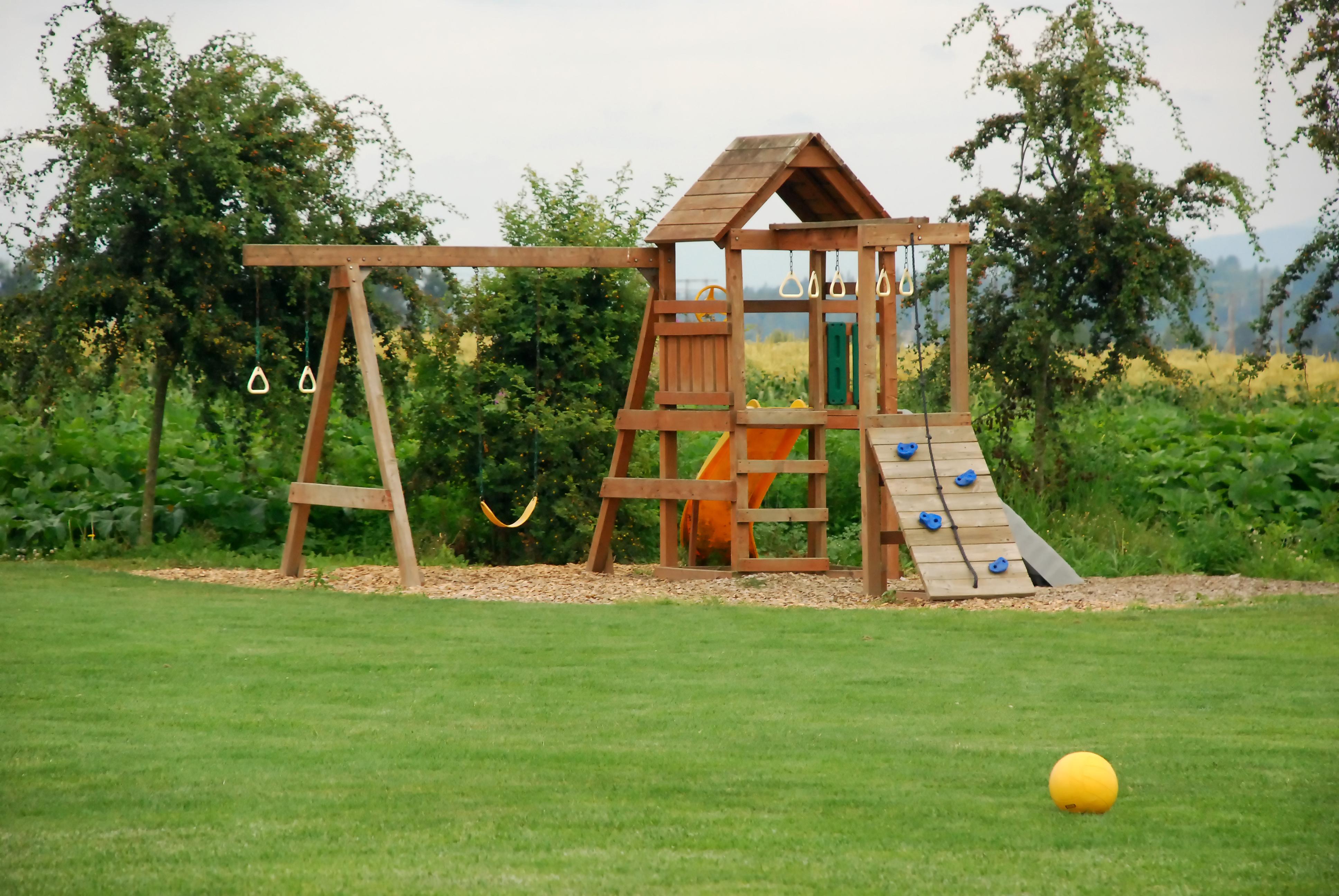 Проект детской площадки для дачи своими руками фото 89