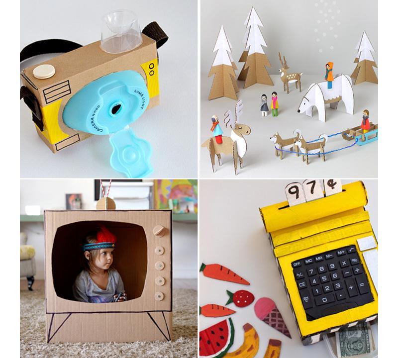 Как сделать игрушки из картона своими руками видео