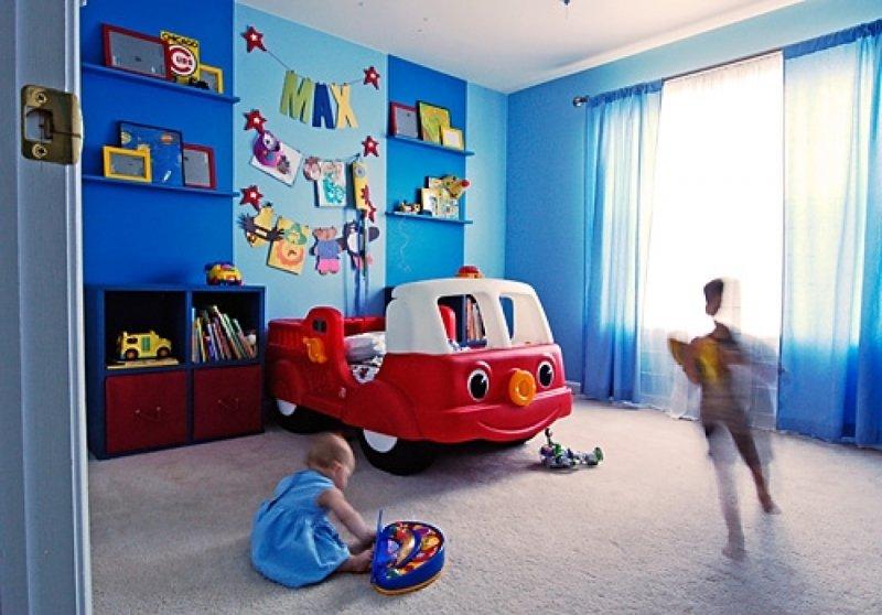 Детская комната для мальчиков своими руками